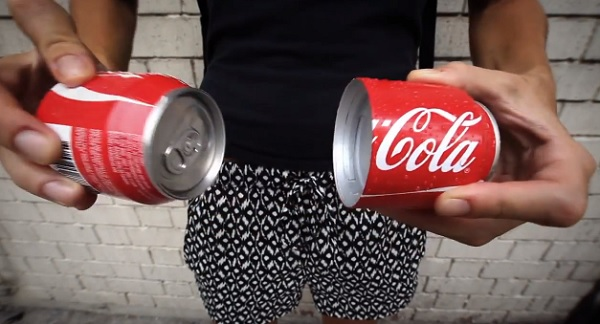Coca Cola that can be shared